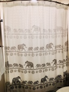 Elephant Shower Curtain(1)