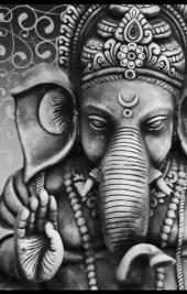 Ganesha BW